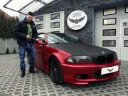 BMW e46 CABRIO : zmiana koloru auta folią : oklejanie : true blood : Krucza18 : Osielsko/k.Bydgoszczy