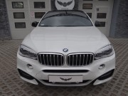 BMW X6 M : zabezpieczenie lakieru bezbarwną folią Premium Shield : czarny połysk : Krucza18 : Osielsko/k.Bydgoszczy