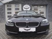 BMW 5 : zmiana koloru auta foią : autodetailing : czyszczenie skór : przyciemnianie szyb : czarny metalik : Krucza18 : Osielsko/k.Bydgoszczy