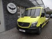 MERCEDES - LAWETA : zmiana koloru auta folia : oklejanie : żółty połysk : Krucza18 : Osielsko/k.Bydgoszczy