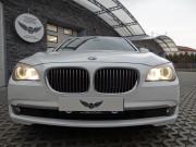 BMW 7 : zmiana koloru auta folią : oklejanie : biała perła : przyciemnianie szyb : Krucza18 : Osielsko/k.Bydgoszczy