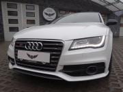 AUDI A7 : zmiana koloru auta folia : oklejanie : biała perła : karbon : Krucza18 : Osielsko/k.Bydgoszczy