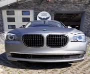 BMW 7 : zmiana koloru auta folia : oklejanie : frozen silver mat : Krucza18 : Osielsko/k.Bydgoszczy