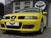 SEAT LEON CUPRA : zmiana koloru auta folią : yellow : oklejanie : Krucza18 : Osielsko/k.Bydgoszczy
