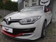 RENAULT MEGANE RS : zmiana koloru auta folią : grey + red pearl : oklejanie : Krucza18 : Osielsko/k.Bydgoszczy
