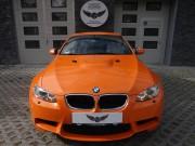 BMW M3 : zmiana koloru auta folią : orange : oklejanie : Krucza18 : Osielsko/k.Bydgoszczy