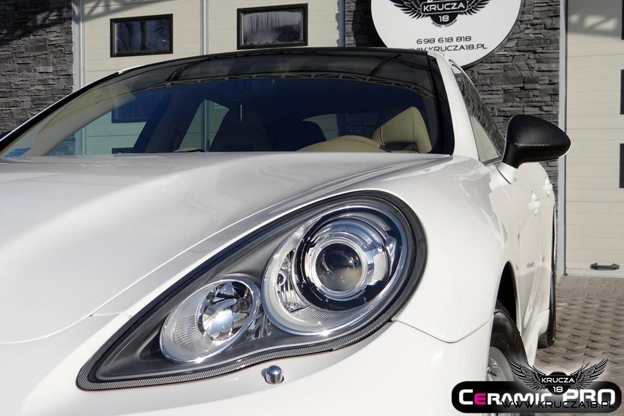 Porsche Panamera po korekcie lakieru + powłoka ochronna CERAMOC PRO 9H