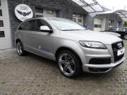 Audi Q7 : zmiana koloru auta folią : szczotkowane aluminium : oklejanie : Krucza18 : Osielsko/k.Bydgoszczy