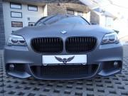 BMW 5 : zmiana koloru auta folią : antracyt : oklejanie : Krucza18 : Osielsko/k.Bydgoszczy