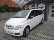 MERCEDES VIANO : zmiana koloru auta folia : biała perła + carbon : oklejanie : Krucza18 : Osielsko/k.Bydgoszczy