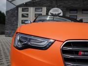 AUDI S5 : zmiana koloru auta folią : orange mat : oklejanie : Krucza18 : Osielsko/k.Bydgoszczy