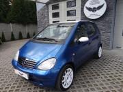 MERCEDES A KLASA : zmiana koloru auta folią : oklejanie : daytona blue, biały połysk : Krucza18 : Osielsko : Bydgoszcz