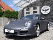 PORSCHE 911 : zmiana koloru auta folią : gun powder : oklejanie : Krucza18 : Osielsko/k.Bydgoszczy