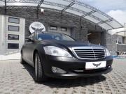 MERCEDES S : zmiana koloru auta folia : czarny mat : oklejanie : Krucza18 : Osielsko/kBydgoszczy