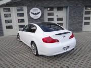 INFINITI G35 : zmiana koloru auta folia : biały mat : oklejanie : Krucza18 : Osielsko/k.Bydgoszczy
