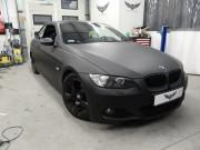 BMW 3 czarny mat