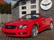 Mercedes SL czerwony połysk