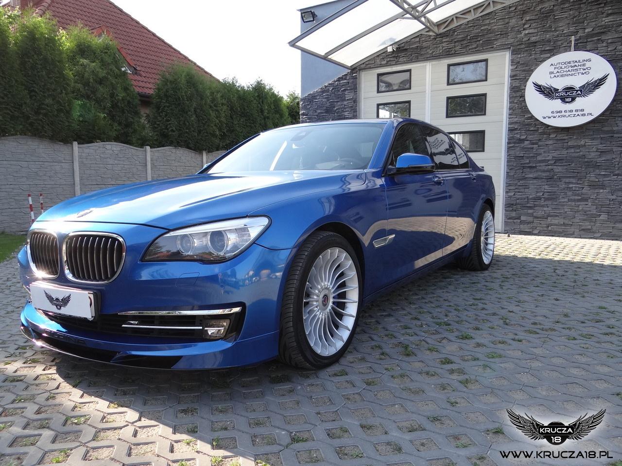BMW 7 - Alpina B7 - Blue Metallic