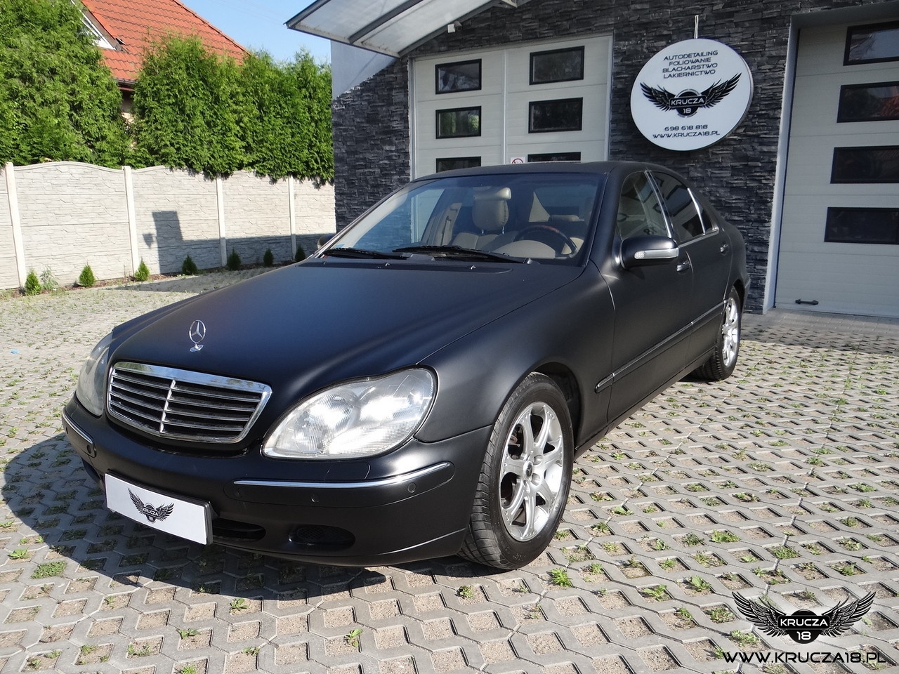 Mercedes S - Black Matt