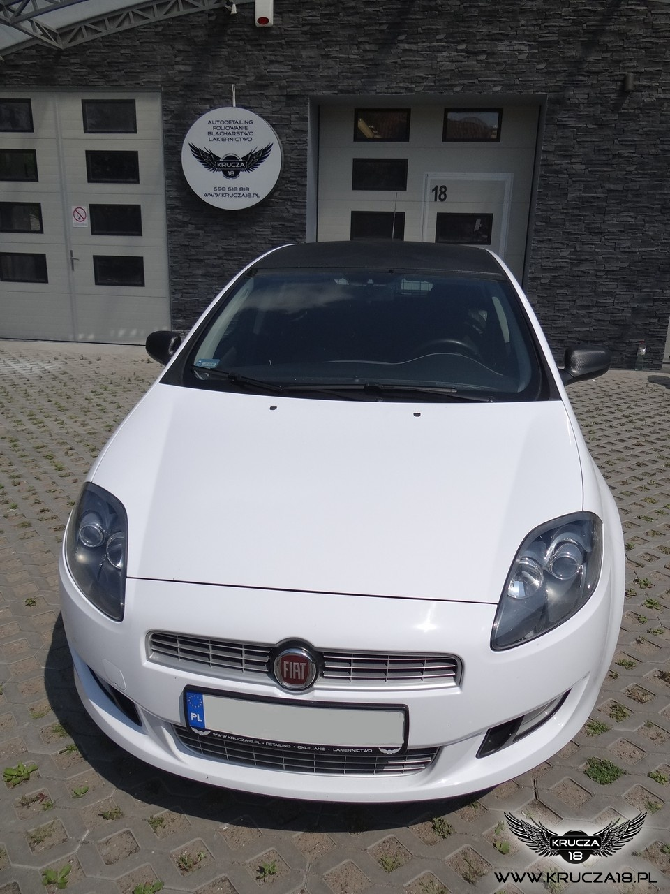 Fiat Bravo - White Gloss & Carbon