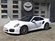 Porsche 911 Turbo S (991) - White Matt