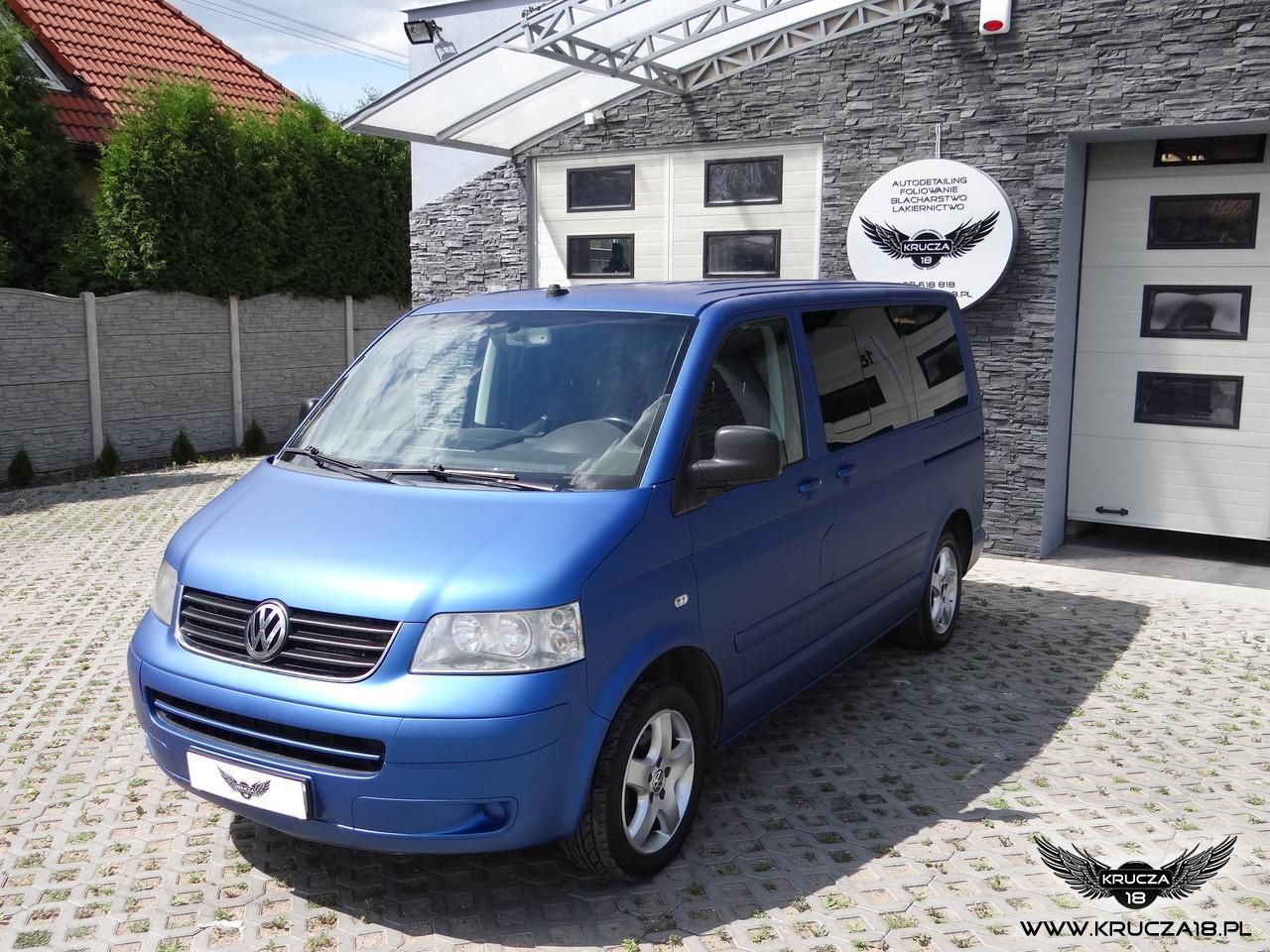 VW Multivan - Blue Matt