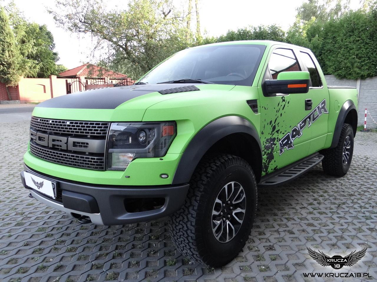 Ford F150 Raptor SVT - Green Matt