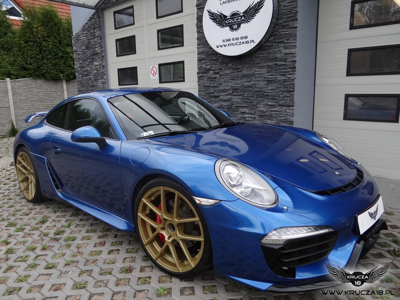 Porsche 991 - Daytona Blue z palety Arlon - Caractere - Capristo