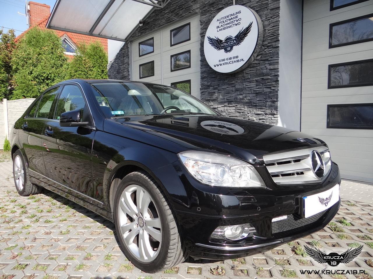 Mercedes - korekta i zabezpieczenie lakieru powłoką NANOSHINE CERAMIC PRO LIGHT