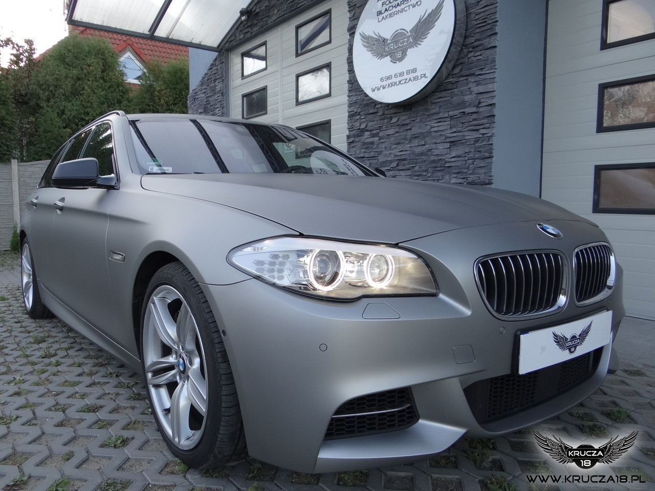 BMW - Matte Steel. Arlon