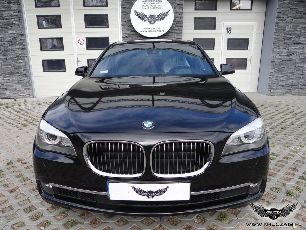 BMW zabezpieczenie przodu pojazdu folią bezbarwną STONE PROTECT