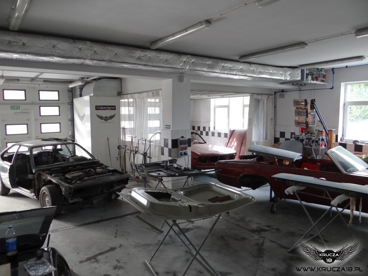 Renowacjach pojazdów zabytkowych, projekty realizowane są w technologii NOVOL for Classic Car. Projekty w trakcie realizacji  24.10.2014