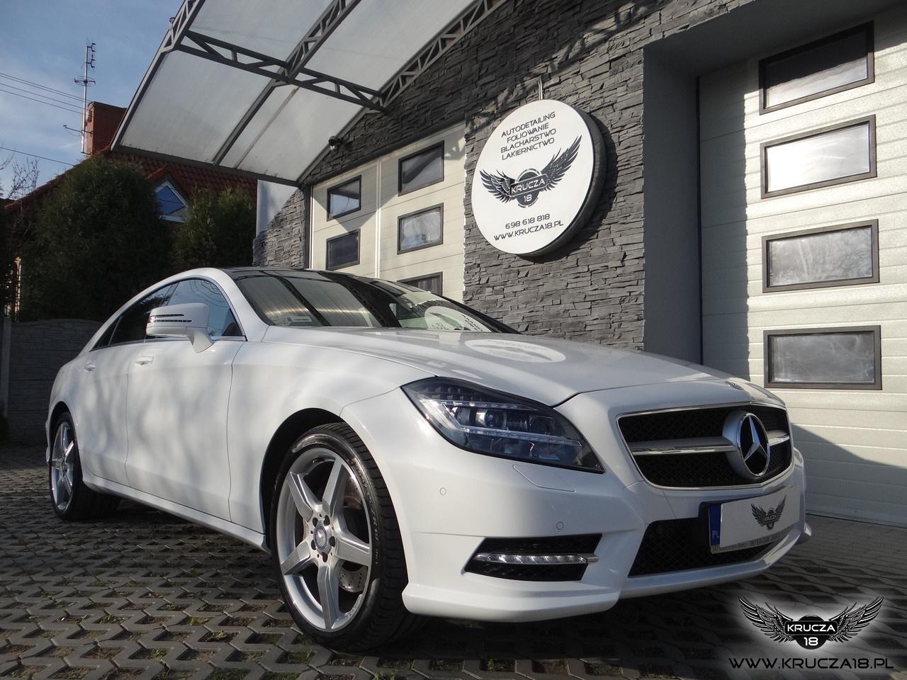 Mercedes CLS - White Metallic