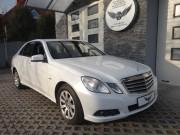 Mercedes W212  Biała Perła
