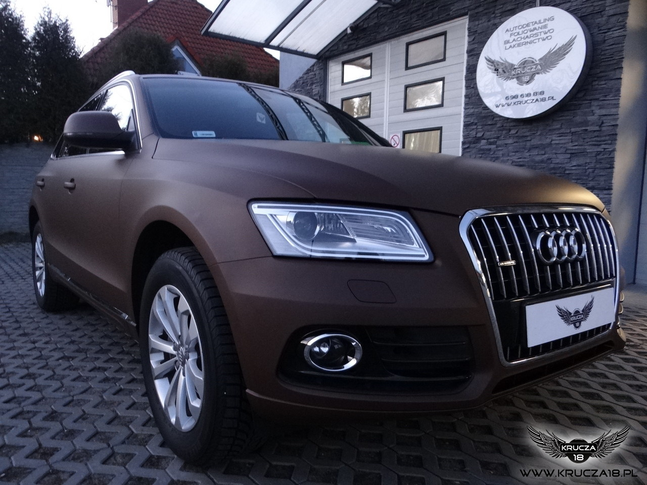 Audi-Chocolate Brown/Arlon
