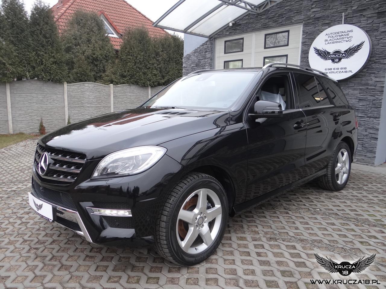 Mercedes ML - CERAMIC PRO 9H + STONE PROTECT
