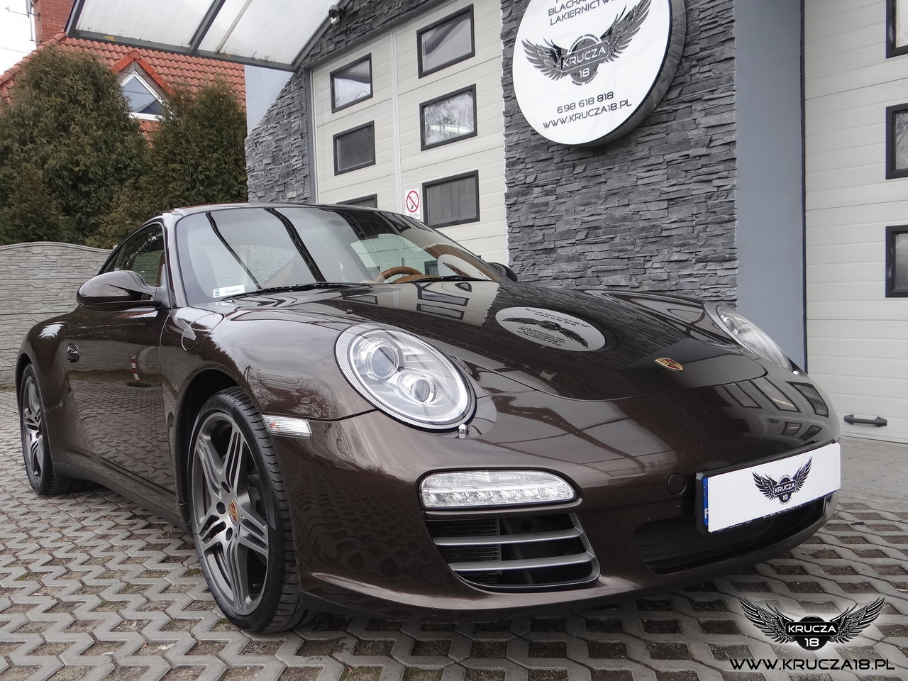 Porsche 911 Carrera 4S w kolorze macadamia  - Powłoka ochronna Ceramic Pro Strong 9H