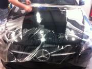 Mercedes CLA folia zabezpieczająca STONE-PROTECT
