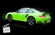 PORSCHE 911 TURBO : zmiana koloru auta folią na matt green lime (video) : Krucza18 : Osielsko/k.Bydgoszczy